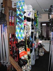 Snowboards rent
